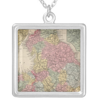 England 9 silver plated necklace