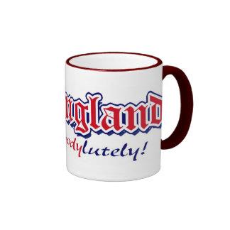 England Absobloodylutely 5 Coffee Mug