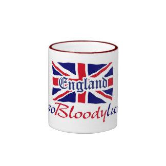England Absobloodylutely Ringer Mug