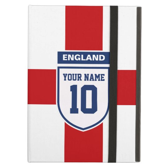 England Allegiance Fans - Customisable Name Number Case