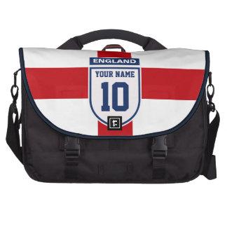 England Allegiance Fans - Customisable Name Number Computer Bag