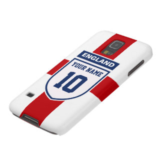England Allegiance Fans - Customizable Name Number Case For Galaxy S5