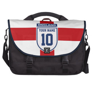 England Allegiance Fans - Customizable Name Number Computer Bag