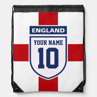 England Allegiance Fans - Customizable Name Number Drawstring Bag