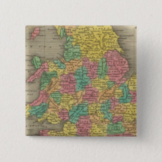 England And Wales 15 Cm Square Badge