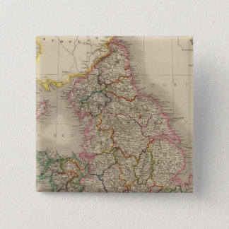 England and Wales 3 15 Cm Square Badge