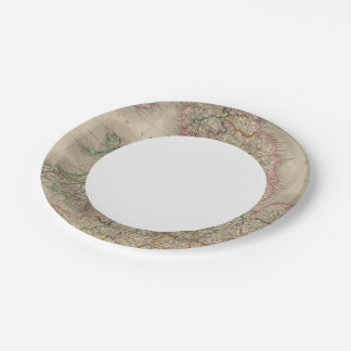 England and Wales 3 Paper Plate