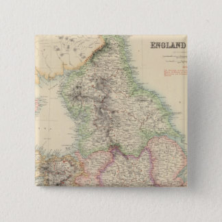 England and Wales 4 15 Cm Square Badge