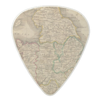 England and Wales 4 Acetal Guitar Pick