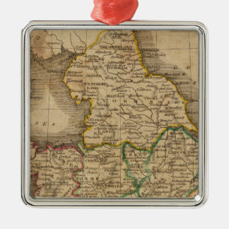 England and Wales 4 Christmas Ornament