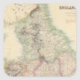 England and Wales 4 Square Sticker