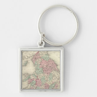 England and Wales 5 Key Chain