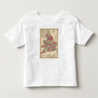 England and Wales 6 Toddler T-Shirt