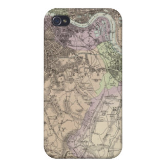 England and Wales - Cities, Ports and Harbours Case For The iPhone 4