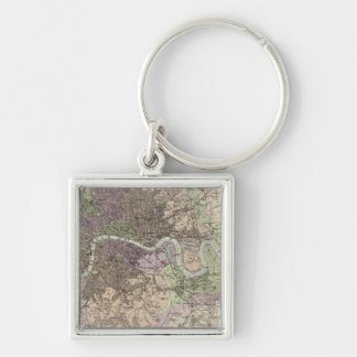 England and Wales - Cities, Ports and Harbours Key Ring