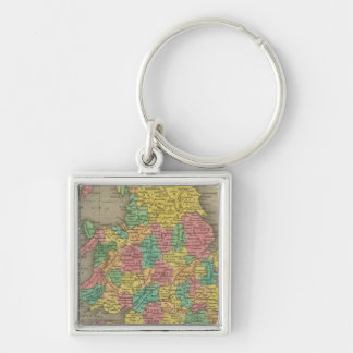 England And Wales Keychain