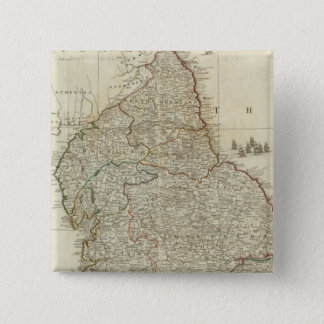 England and Wales Northern section 15 Cm Square Badge