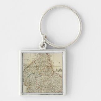 England and Wales Northern section Keychain