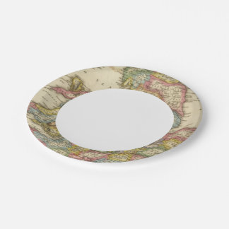 England and Wales Paper Plate