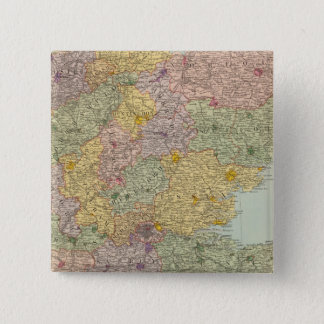 England and Wales Southeast 15 Cm Square Badge