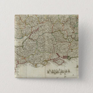 England and Wales Southern section 15 Cm Square Badge