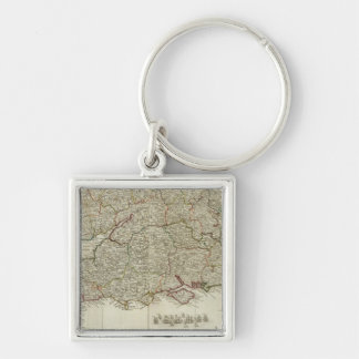 England and Wales Southern section Key Chains