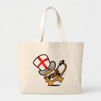 England Beermonkey Canvas Bags