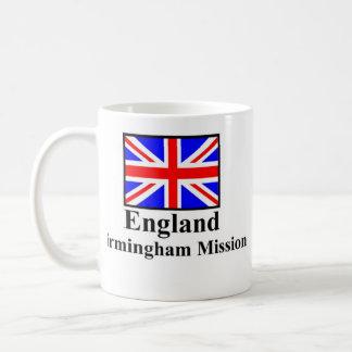 England Birmingham Mission Drinkware Basic White Mug