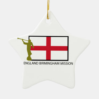 ENGLAND BIRMINGHAM MISSION LDS CTR CHRISTMAS ORNAMENT