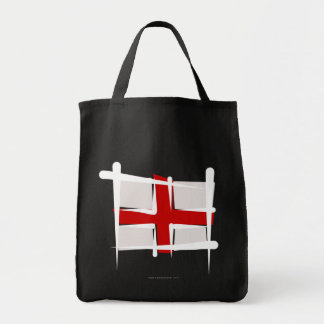 England Brush Flag Tote Bag