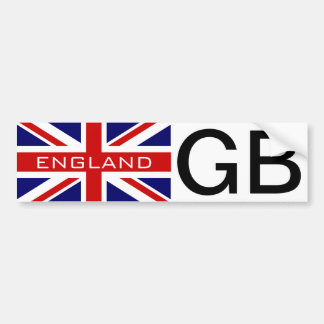 England bumper sticker | British Union jack flag