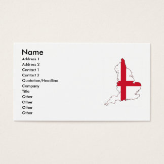England Business Card