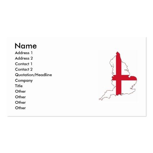 England Business Card