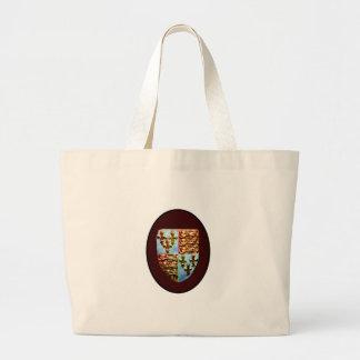 England Canterbury Church Crest Brown bg The MUSEU Tote Bag