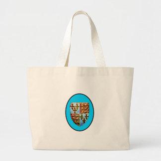 England Canterbury Church Crest Cyan bg The MUSEUM Bags