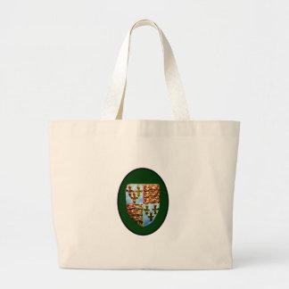 England Canterbury Church Crest Green bg The MUSEU Tote Bag