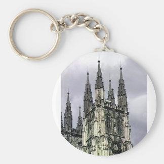 England Canterbury Church Spirals 1 The MUSEUM Zaz Key Chain