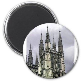 England Canterbury Church Spirals 1 The MUSEUM Zaz Refrigerator Magnet