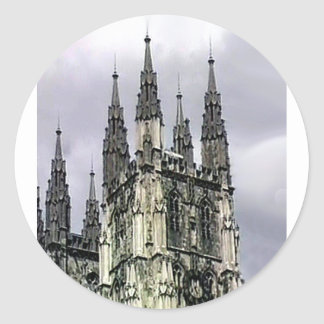 England Canterbury Church Spirals 1 The MUSEUM Zaz Stickers
