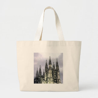 England Canterbury Church Spirals The MUSEUM Zazzl Tote Bag
