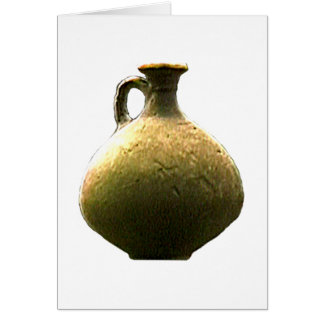 England Canterbury Roman Artifact Pottery 1 The MU Greeting Card