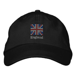 England Cap - UK Flag Hat Embroidered Hat