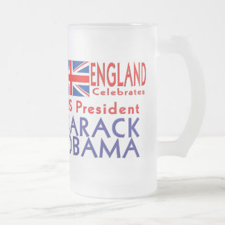 ENGLAND Celebrates US President Obama Souvenirs Mugs