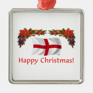 England Christmas Christmas Ornament