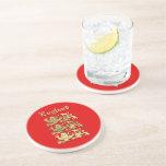England CoA Drink Coaster