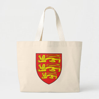 England Coat Of Arms Large Tote Bag