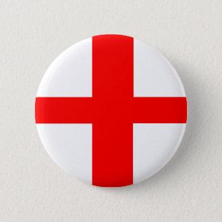 england country flag long symbol english name text 6 cm round badge