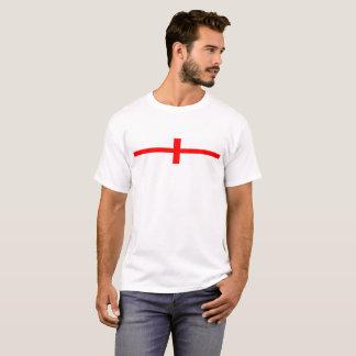 england country flag long symbol english name text T-Shirt