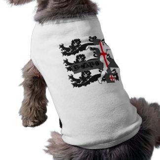 ENGLAND DOG VEST SLEEVELESS DOG SHIRT