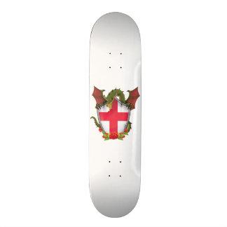 England Dragon and English Flag shield Skateboard Decks